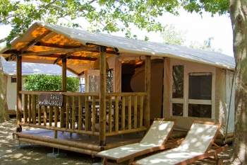 Jungle Thema Slaapkamer : De sunlodge jungle 5 personen van suncamp holidays